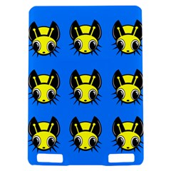 Yellow and blue firefies Kindle Touch 3G