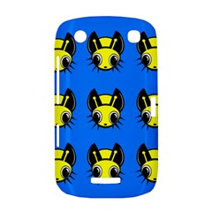 Yellow and blue firefies BlackBerry Curve 9380