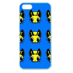 Yellow and blue firefies Apple Seamless iPhone 5 Case (Color)