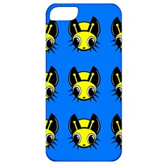 Yellow and blue firefies Apple iPhone 5 Classic Hardshell Case