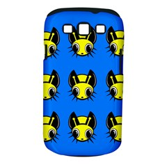 Yellow and blue firefies Samsung Galaxy S III Classic Hardshell Case (PC+Silicone)