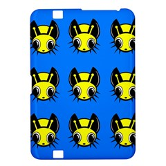 Yellow and blue firefies Kindle Fire HD 8.9