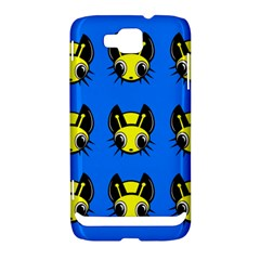 Yellow and blue firefies Samsung Ativ S i8750 Hardshell Case
