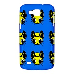 Yellow and blue firefies Samsung Galaxy Premier I9260 Hardshell Case