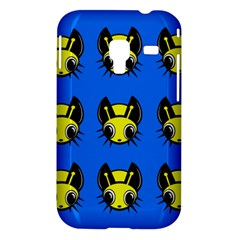 Yellow and blue firefies Samsung Galaxy Ace Plus S7500 Hardshell Case