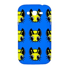 Yellow and blue firefies Samsung Galaxy Grand DUOS I9082 Hardshell Case