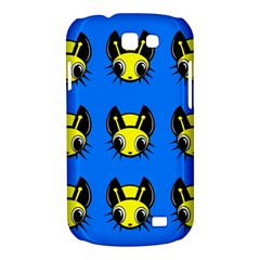 Yellow and blue firefies Samsung Galaxy Express I8730 Hardshell Case