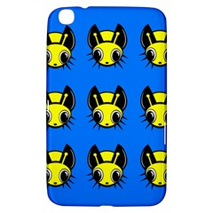 Yellow and blue firefies Samsung Galaxy Tab 3 (8 ) T3100 Hardshell Case