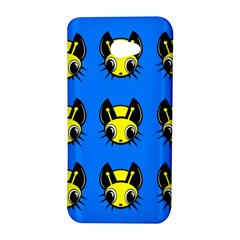 Yellow and blue firefies HTC Butterfly S/HTC 9060 Hardshell Case