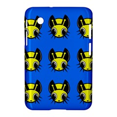 Yellow and blue firefies Samsung Galaxy Tab 2 (7 ) P3100 Hardshell Case