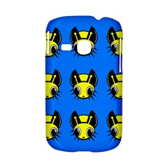 Yellow and blue firefies Samsung Galaxy S6310 Hardshell Case