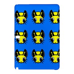 Yellow and blue firefies Samsung Galaxy Tab Pro 10.1 Hardshell Case