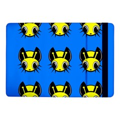 Yellow and blue firefies Samsung Galaxy Tab Pro 10.1  Flip Case