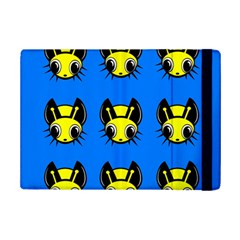 Yellow and blue firefies iPad Mini 2 Flip Cases