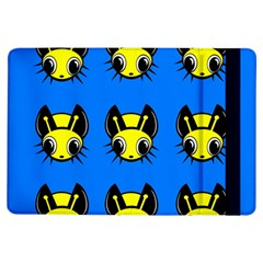 Yellow and blue firefies iPad Air Flip