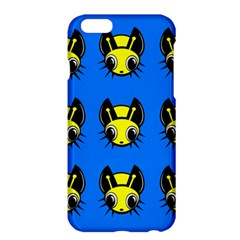 Yellow and blue firefies Apple iPhone 6 Plus/6S Plus Hardshell Case