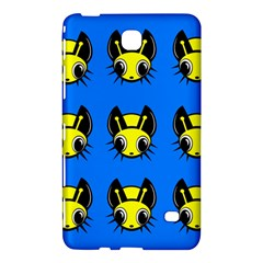 Yellow and blue firefies Samsung Galaxy Tab 4 (8 ) Hardshell Case