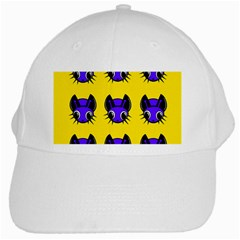 Blue and yellow fireflies White Cap