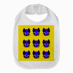 Blue And Yellow Fireflies Bib