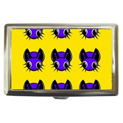 Blue and yellow fireflies Cigarette Money Cases