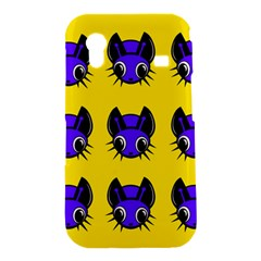 Blue and yellow fireflies Samsung Galaxy Ace S5830 Hardshell Case