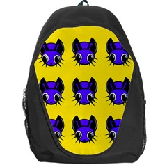 Blue and yellow fireflies Backpack Bag