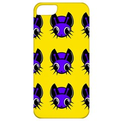 Blue and yellow fireflies Apple iPhone 5 Classic Hardshell Case