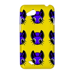 Blue and yellow fireflies HTC Desire VC (T328D) Hardshell Case