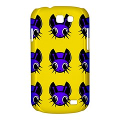 Blue and yellow fireflies Samsung Galaxy Express I8730 Hardshell Case