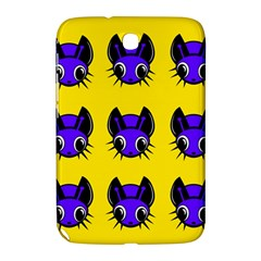 Blue and yellow fireflies Samsung Galaxy Note 8.0 N5100 Hardshell Case