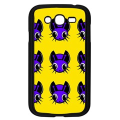 Blue and yellow fireflies Samsung Galaxy Grand DUOS I9082 Case (Black)