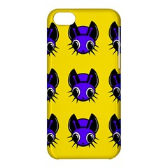 Blue and yellow fireflies Apple iPhone 5C Hardshell Case