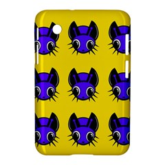 Blue and yellow fireflies Samsung Galaxy Tab 2 (7 ) P3100 Hardshell Case