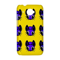 Blue and yellow fireflies HTC Desire 601 Hardshell Case