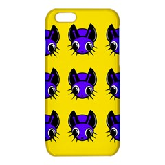 Blue and yellow fireflies iPhone 6/6S TPU Case