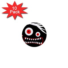 Crazy monster 1  Mini Magnet (10 pack)