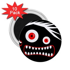 Crazy monster 2.25  Magnets (10 pack)
