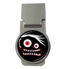 Crazy monster Money Clips (Round)