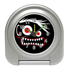 Crazy monster Travel Alarm Clocks
