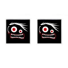 Crazy monster Cufflinks (Square)