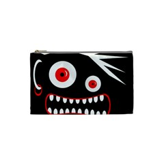 Crazy monster Cosmetic Bag (Small)
