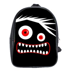 Crazy monster School Bags(Large)