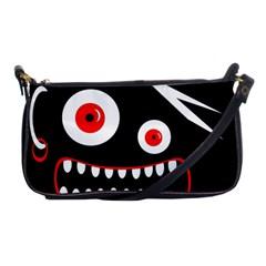 Crazy monster Shoulder Clutch Bags