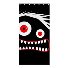 Crazy monster Shower Curtain 36  x 72  (Stall)
