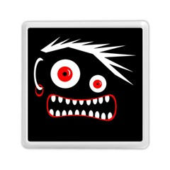 Crazy monster Memory Card Reader (Square)