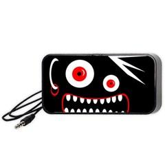 Crazy monster Portable Speaker (Black)