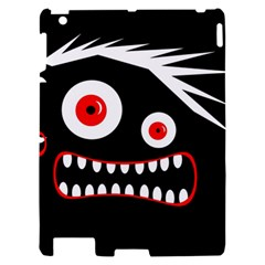 Crazy monster Apple iPad 2 Hardshell Case