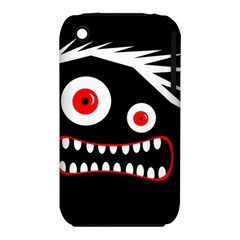 Crazy monster Apple iPhone 3G/3GS Hardshell Case (PC+Silicone)