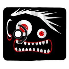 Crazy monster Samsung Galaxy Note II Flip 360 Case