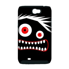 Crazy monster Samsung Galaxy Note 2 Hardshell Case (PC+Silicone)
